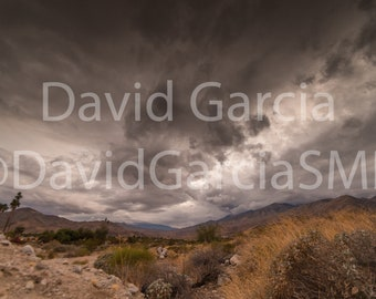 David Garcia SMD Photography - A Storm Brewing Over Palm Springs