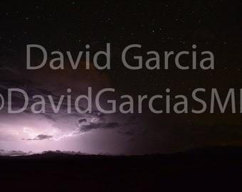 David Garcia SMD Photography - Lightning Over Joshua Tree