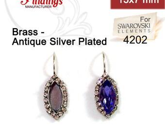 97341d5d4fc16 Mariana earrings | Etsy