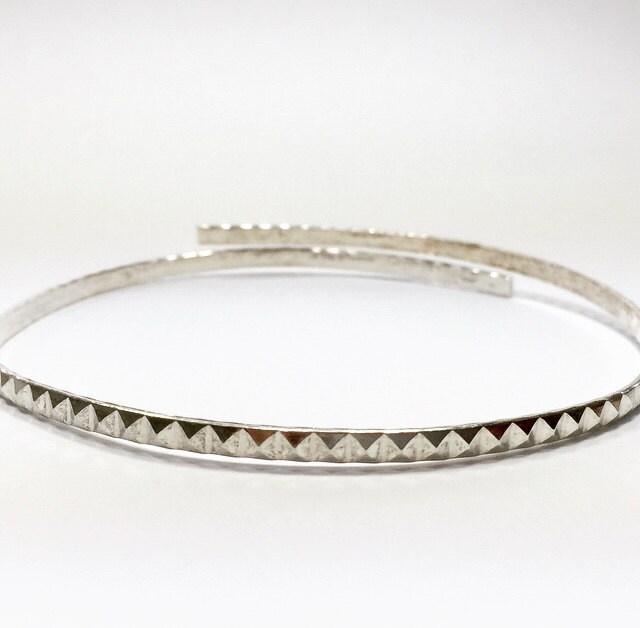 12 (30,5 pouces (30,5 12 cm) x largeur 3,3 mm Sterling 935 bande Galerie ruban décoratif en argent, motif fil (C000039) 1c6b98