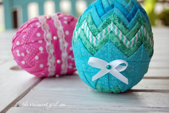 Tutorial No Sew Quilted Easter Egg Pattern Learn How To Etsy