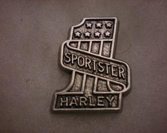 vintage harley davidson pin