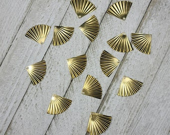 Raw Brass Teardrop Ovals 10pcs5pair Light Gold Earring Pendant Findings Charm for Jewelry Making Supplies Beading  Component Polymer Clay