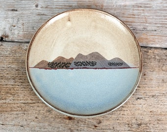 Mountains Side Plate