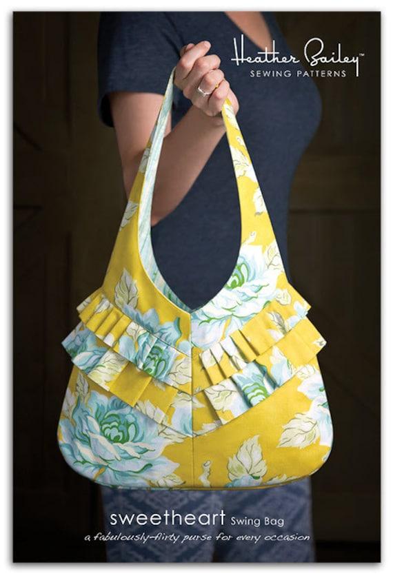 Heather Bailey Sweetheart Swing Bag Sewing Pattern Free