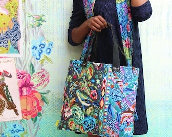 Amy Butler An Artful Piece Totes and Pillow Sewing Pattern, FREE SHIPPING