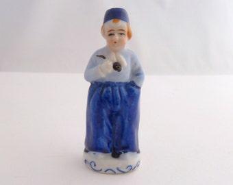 Occupied Japan Figurine - collectible ceramic -  Miniature Dutch boy
