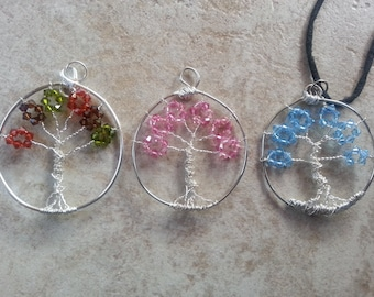 Wire Wrapped Tree Pendant