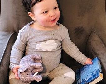 Elephant, Stuffed Animal, Baby Toy, Christmas Gifts, New Baby Gift,