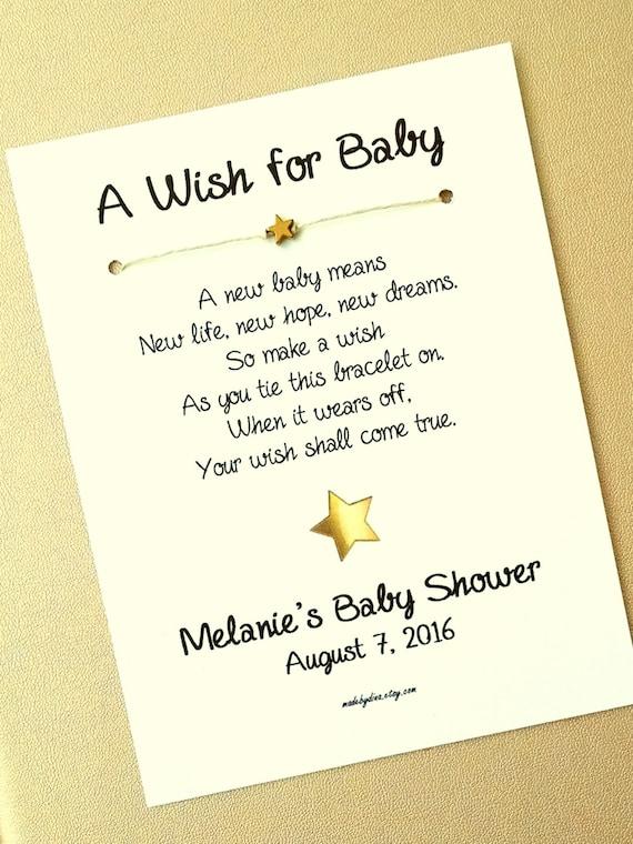 Top Een wens voor de Baby beetje Star Theme Wish armband | Etsy &DZ29