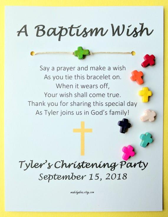 Wunsch fur die taufe