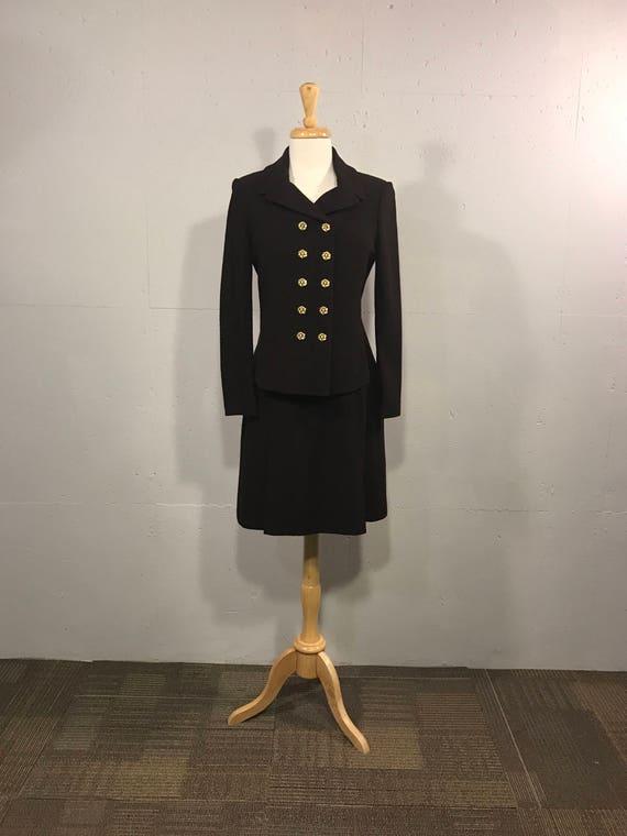 Vintage St John Knits, Wool Womens suit, Desiginer