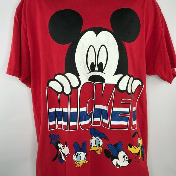 MICKEY MOUSE: Vintage 90s Red Mickey Unlimited Dis