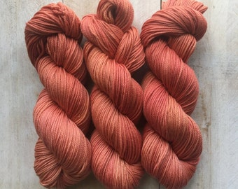 Madder By Louise Robert Design   Dk Pure Hand-dyed Yarn, Natural Dyes