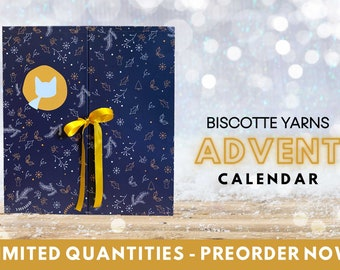BISCOTTE YARNS ADVENT calendar for knitters 2021