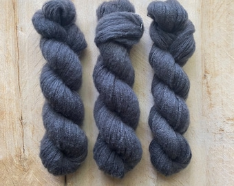 ARDOISE by Louise Robert Design   DOLCE hand-dyed semi-solid yarn