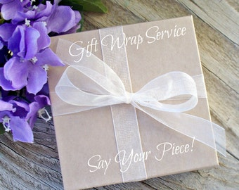 Gift Wrap for Say Your Piece Small Gift Dishes and Ornaments