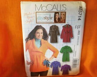 McCalls M5714 Womens Jacket Sewing Pattern