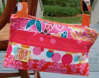 Convenient Organized Purse in two sizes - pdf sewing instructions