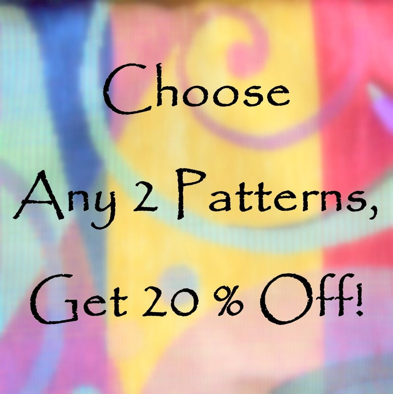 Sewing Instructions pdf  Choose Two for 20 percent off image 0