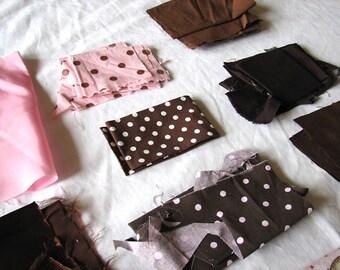 Destash-Pink and Brown Scrap Pack