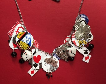 Card game necklace