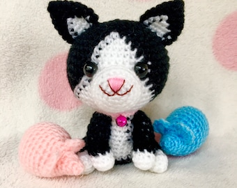 Tuxedo Cat Doll - For Sale by Meatball-the-Cat -- Fur Affinity ... | 270x340