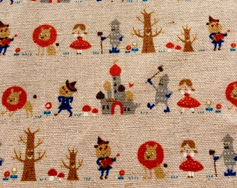 The Wizard of Oz by KOKKA - Pale Pink --- 1/2 Yard
