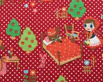 Little Red Riding Hood - Red --- 1/2 Yard