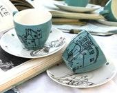 Dover Tea Cups Pair