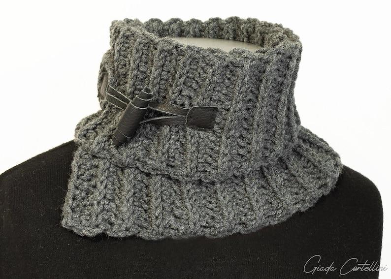PRENOTATO Scaldacollo unisex in lana fatto a mano collo  63a05e4262b2