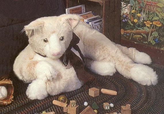 Giant Kitty Cat Sewing Pattern Kitty Teddy Bear Patterns Plush Etsy