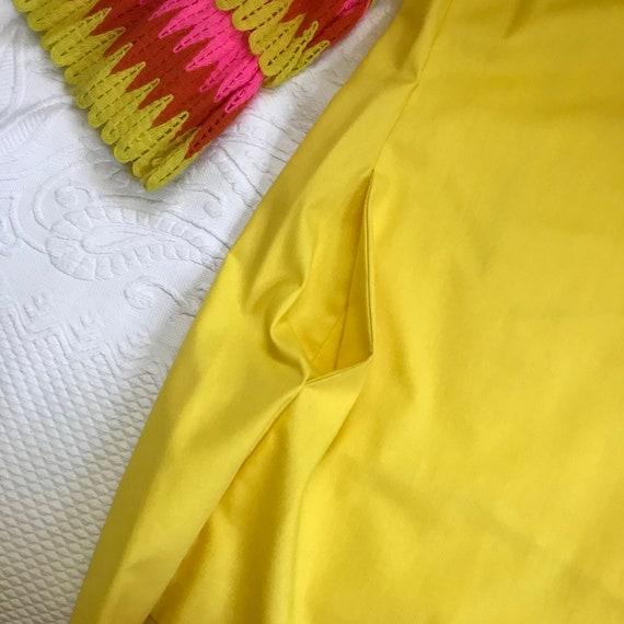 60s MOD dress . 60s mini dress . ruffles sleeves - image 6