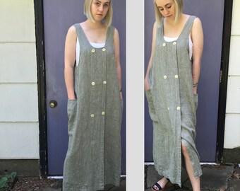 FLAX . linen jumper . Flax by Angelheart  . 1980s . FLAX jumper . size S