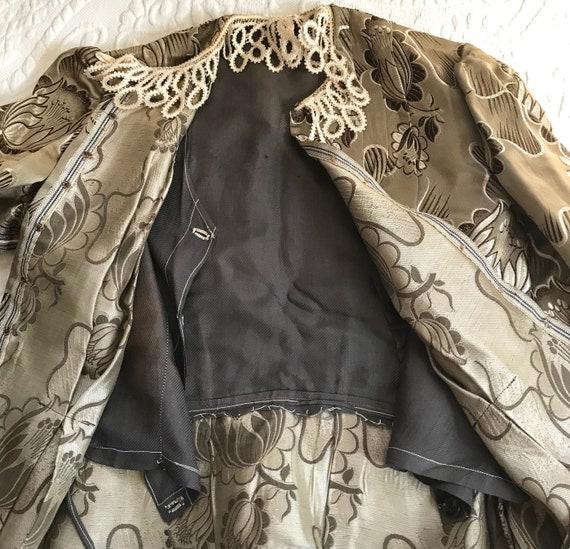 antique peplum blouse .  garment study . edwardia… - image 8