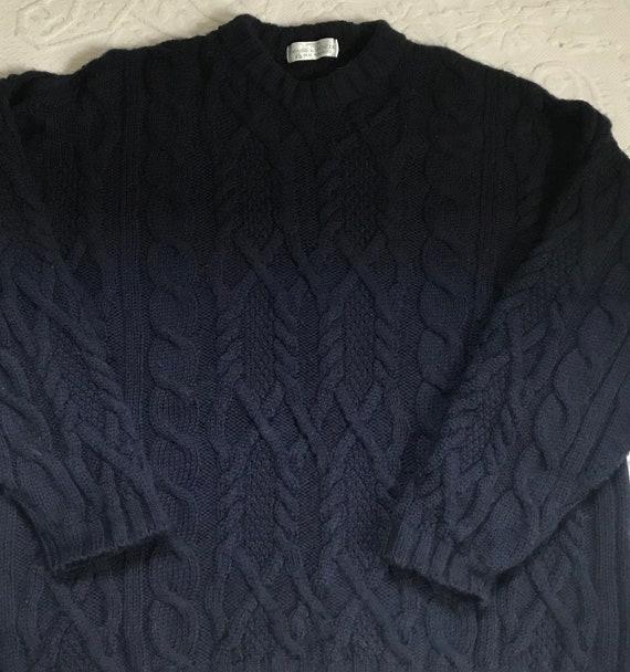 Vintage Irish Fisherman  Sweater . fisherman sweat