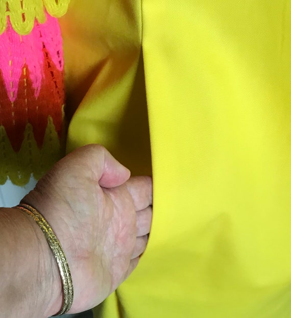 60s MOD dress . 60s mini dress . ruffles sleeves - image 5