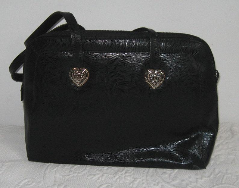 Coldwater Creek bag . large black bag . large purse . black  0f89f696fed02