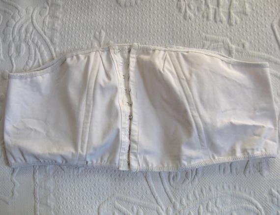 white corset . truehealth . truehealth corset . bo