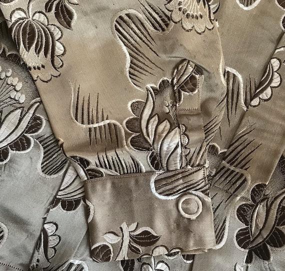 antique peplum blouse .  garment study . edwardia… - image 7