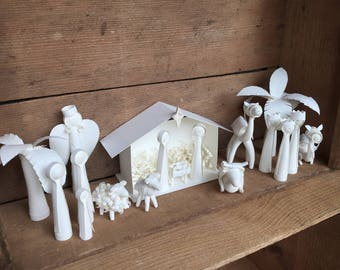 Paper Quilled Nativity Scene - Complete Set