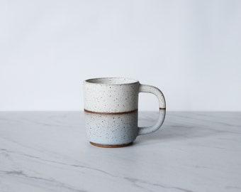 Espresso cup, demitasse, cortado, glazed in cream + ice.