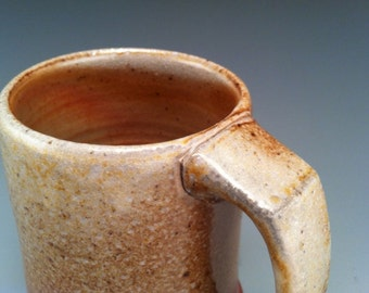 Wood Fired Mug (17), wheel thrown stoneware