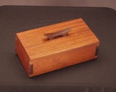 Mahogany Keepsake Box - Japanese Inspired