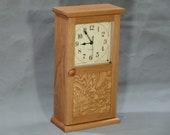 Shaker Style Clock - Cherry