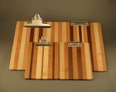 Clipboard - Combo - Large & Mini - Multi-wood