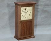 Shaker Style Clock - Walnut