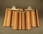 Clipboard - Large - Multi-wood