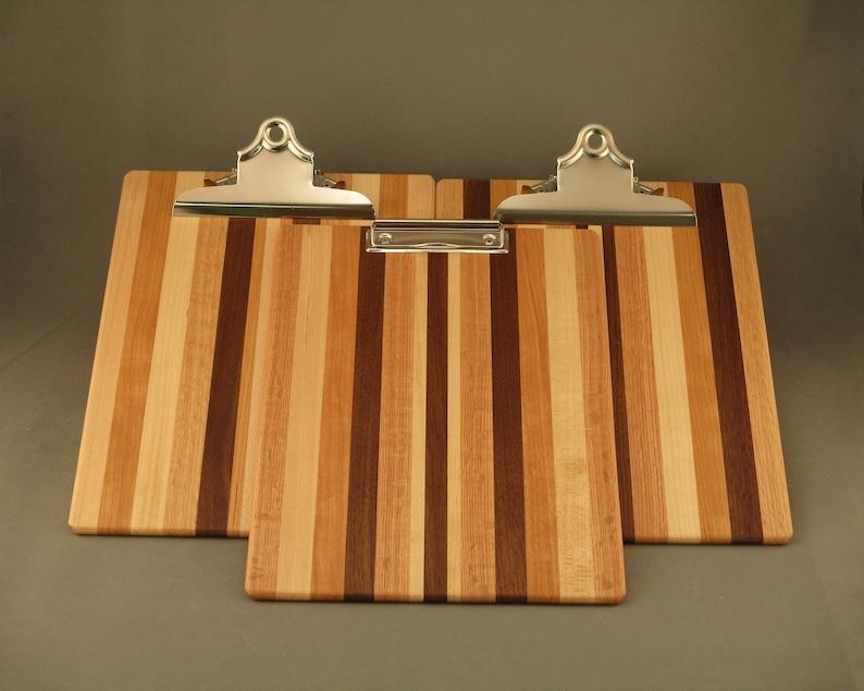 Clipboard  Large  Multi-wood image 1