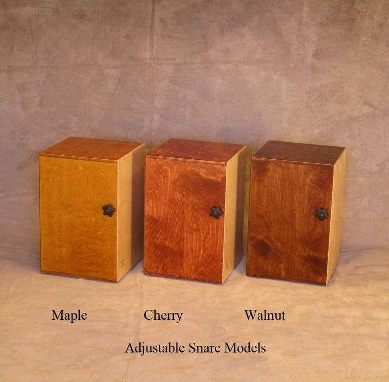 Handcrafted Cajon  Drum Box image 0